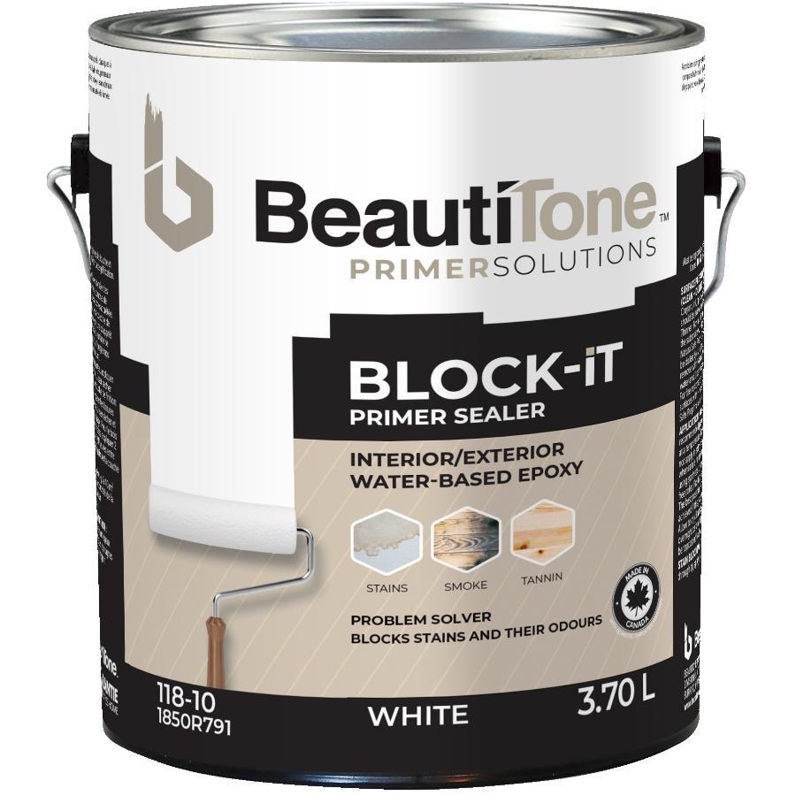 Beautitone Primer Solutions 3.7L White Interior/Exterior BLOCK iT Latex Primer