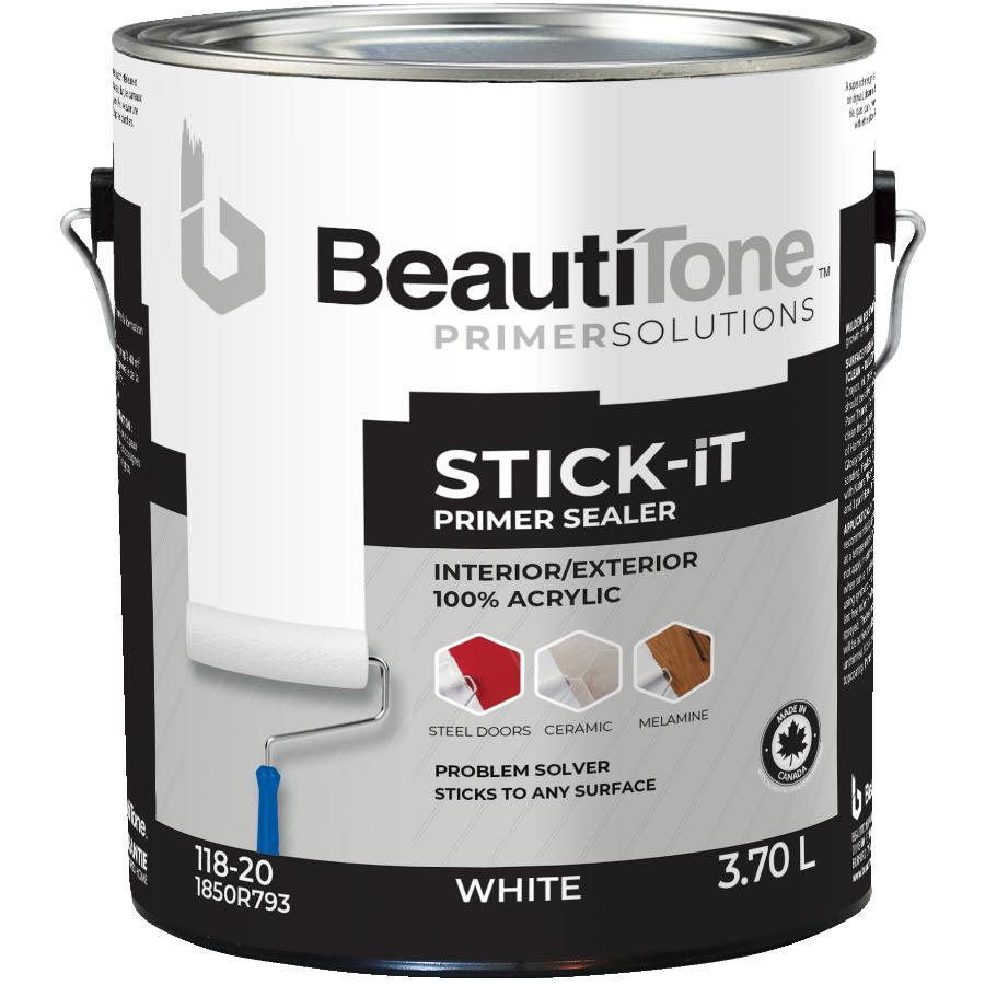 Beauti-tone: 3.7L White Interior/Exterior STICK iT Latex Primer