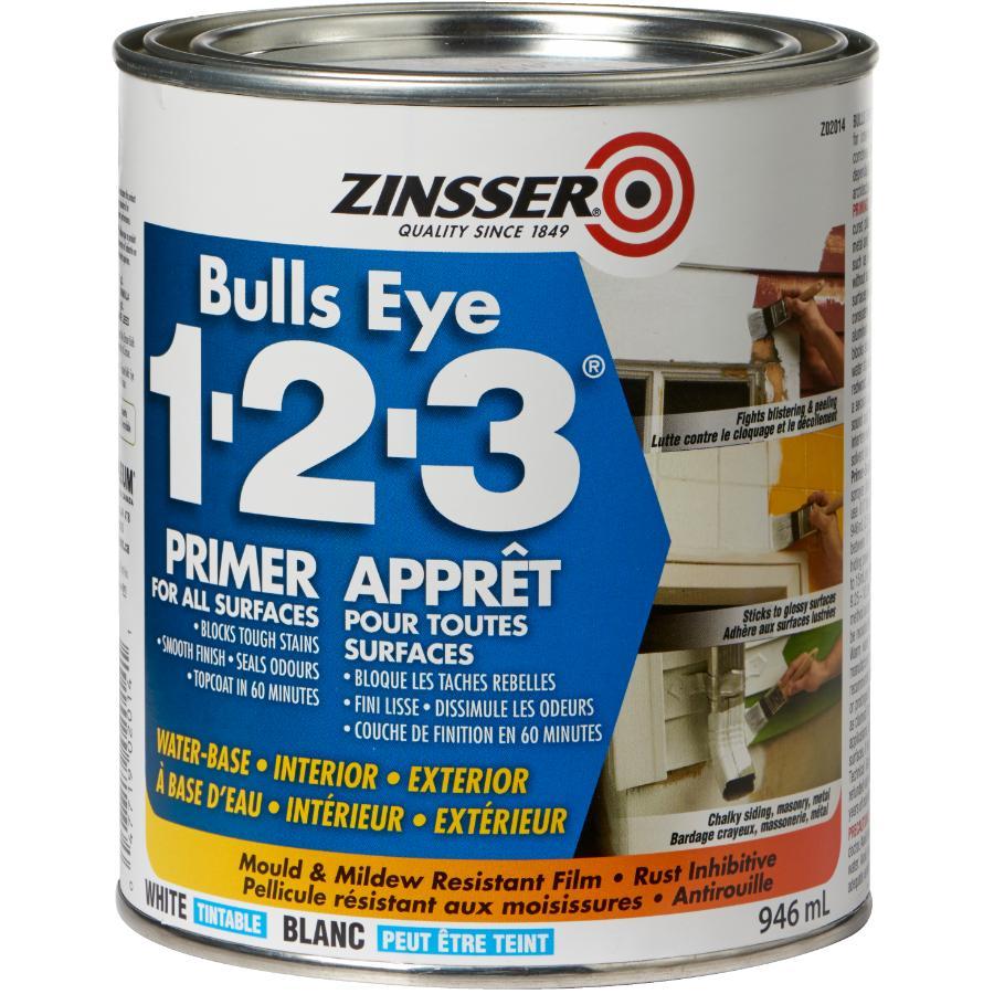 Zinsser 946mL 1-2-3 Latex Primer Sealer