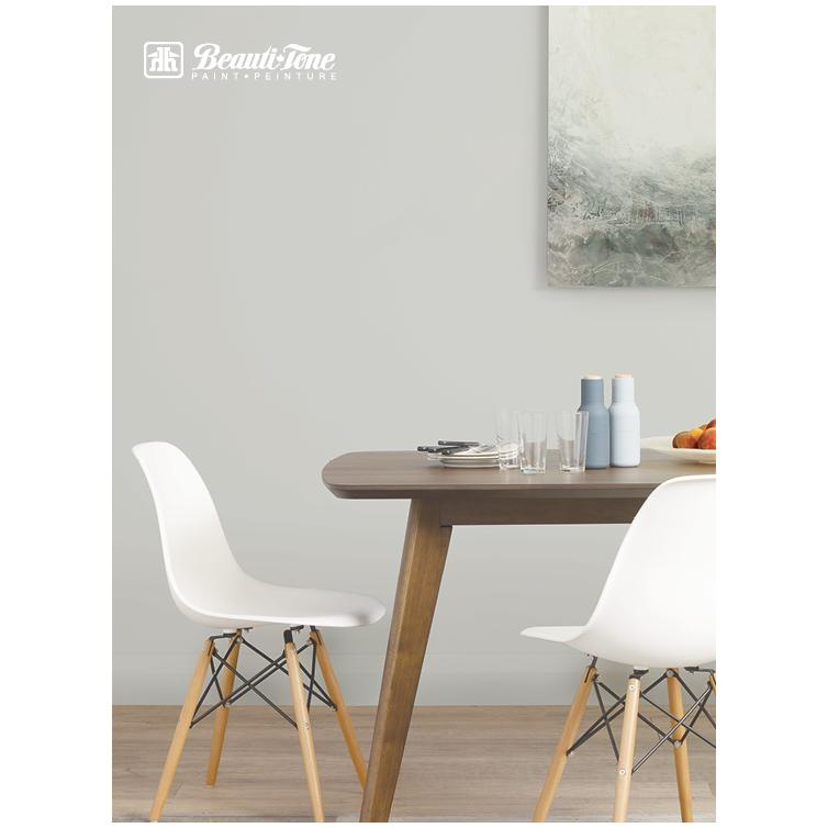 Beautitone Signature: Interior Acrylic Latex Eggshell Paint - High Hide White, 3.64 L