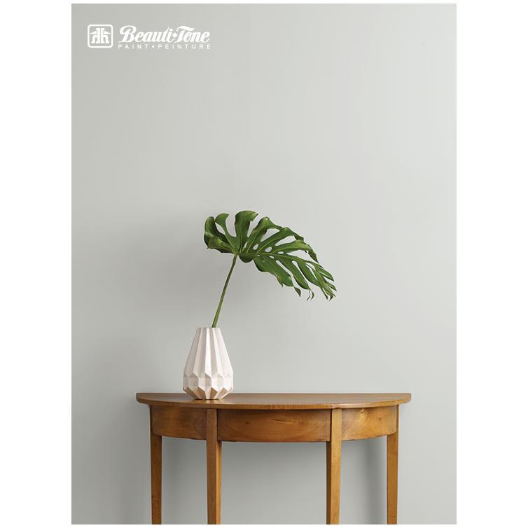 Beautitone Signature: Interior Acrylic Latex Pearl Paint - Clear Base, 3.4 L