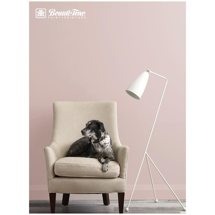 Beautitone Signature: Interior Acrylic Latex Semi-Gloss Paint - Clear Base, 3.4 L