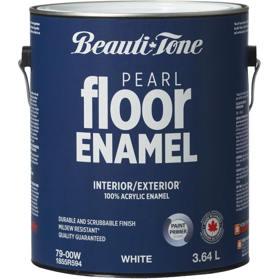 Beauti-tone 3.64L White Base Interior/Exterior Porch & Floor Latex Paint