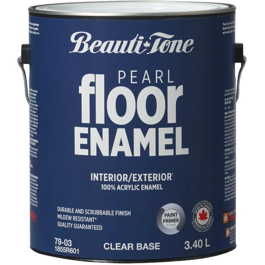 Beauti-tone 3.40L Clear Base Interior/Exterior Porch & Floor Latex Paint