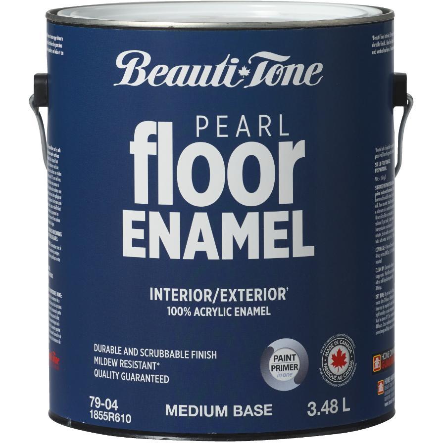 Beauti-tone 3.48L Medium Base Interior/Exterior Porch & Floor Latex Paint