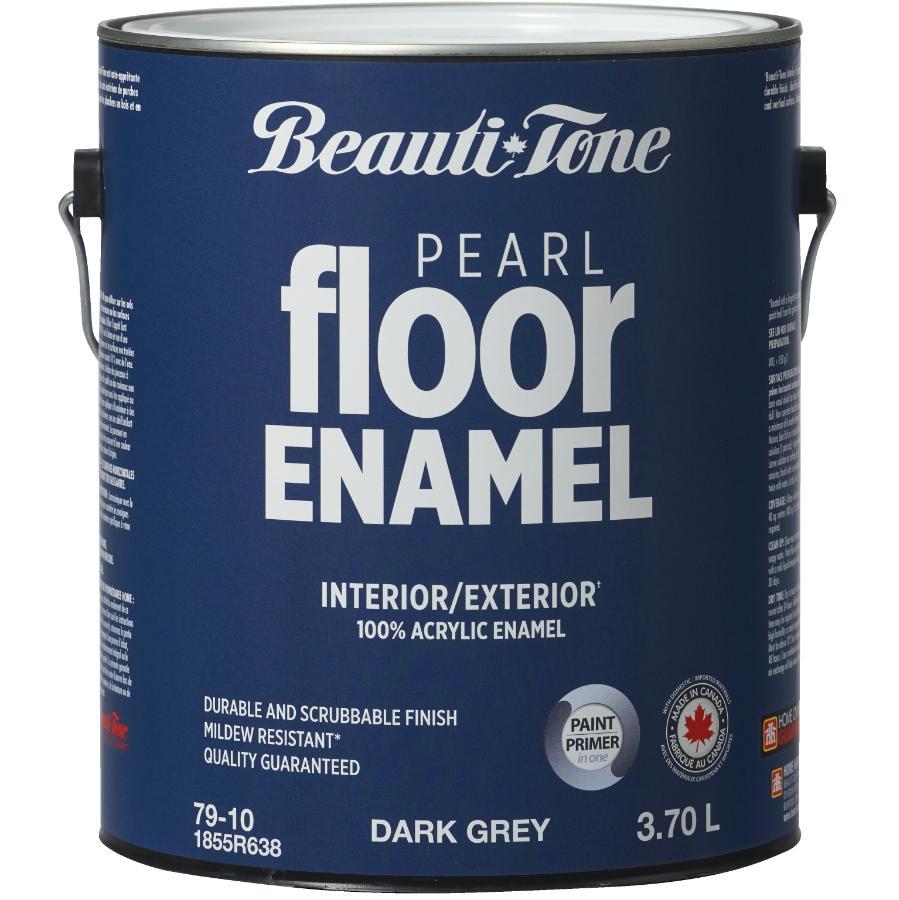 Beauti-tone: 3.78L Grey Interior/Exterior Porch & Floor Latex Paint