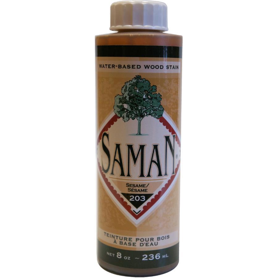 Saman 8oz Sesame Latex Wood Stain