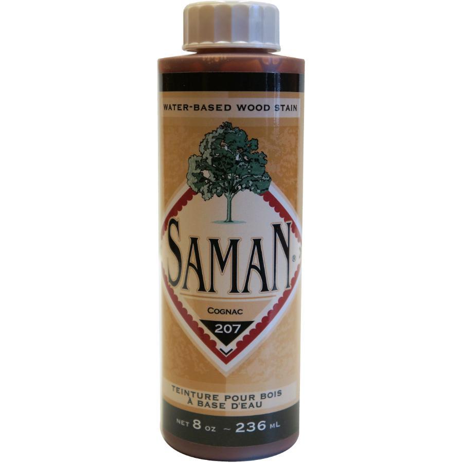 Saman 8oz Cognac Latex Wood Stain