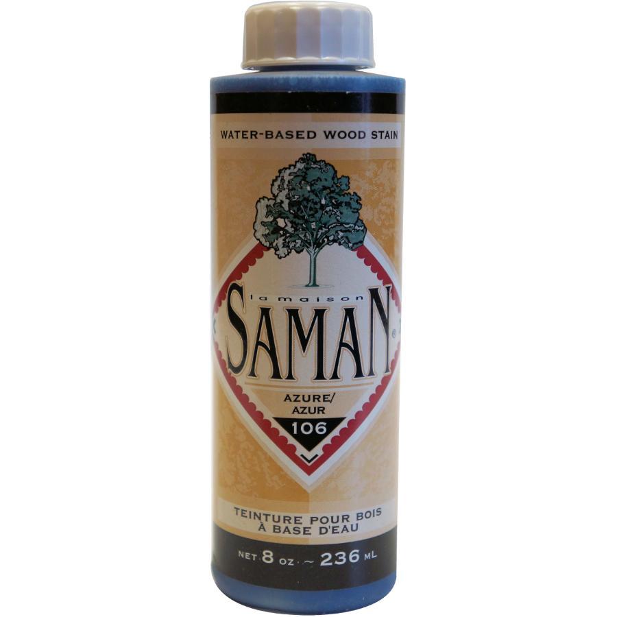 Saman 8oz Azure Latex Wood Stain