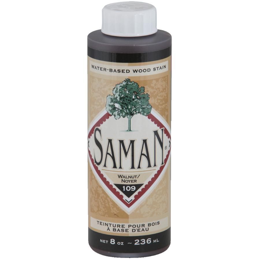 Saman 8oz Walnut Latex Wood Stain