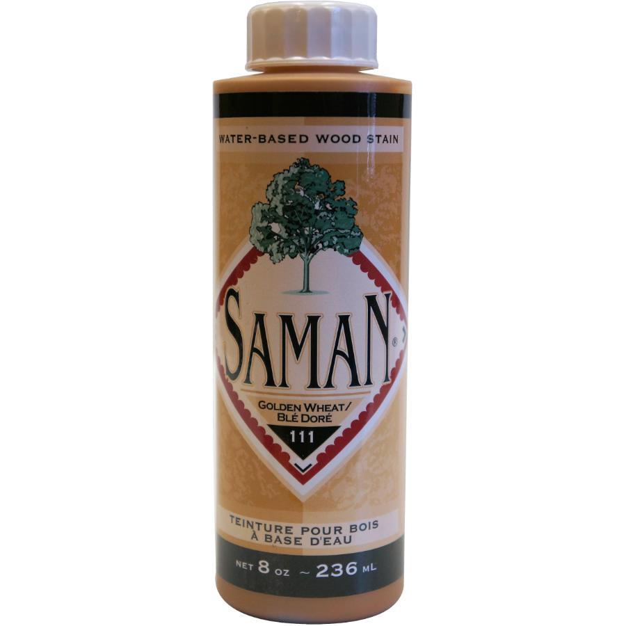 Saman 8oz Golden Wheat Latex Wood Stain