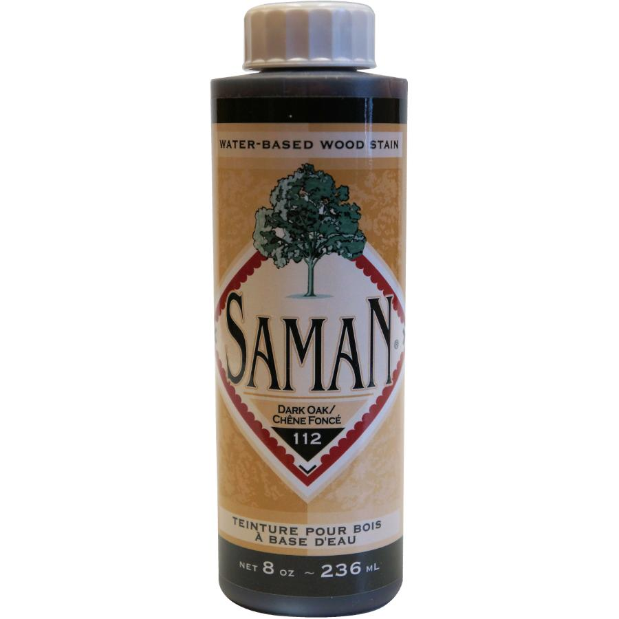 Saman 8oz Dark Oak Latex Wood Stain