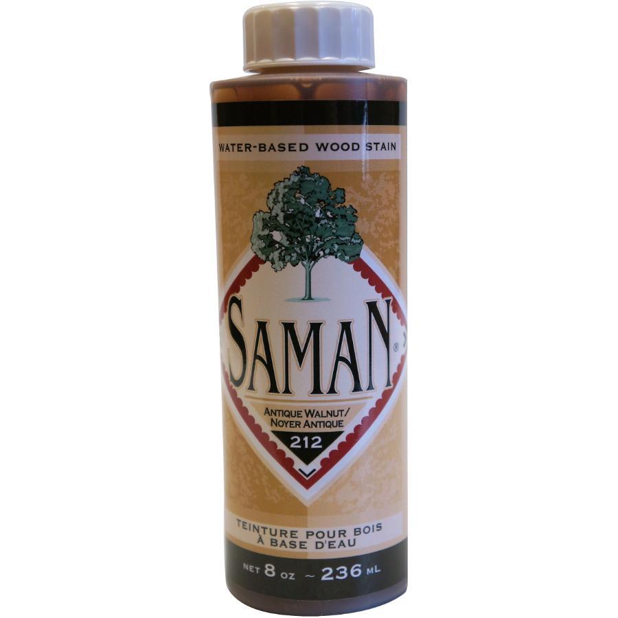 Saman 8oz Antique Walnut Latex Wood Stain