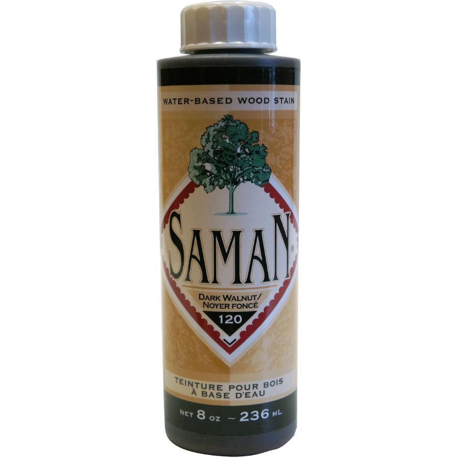 Saman: 8oz Dark Walnut Latex Wood Stain