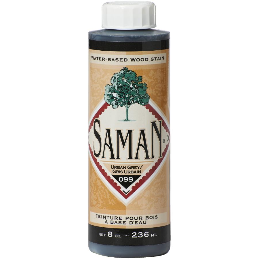 Saman: 8oz Urban Grey Latex Wood Stain