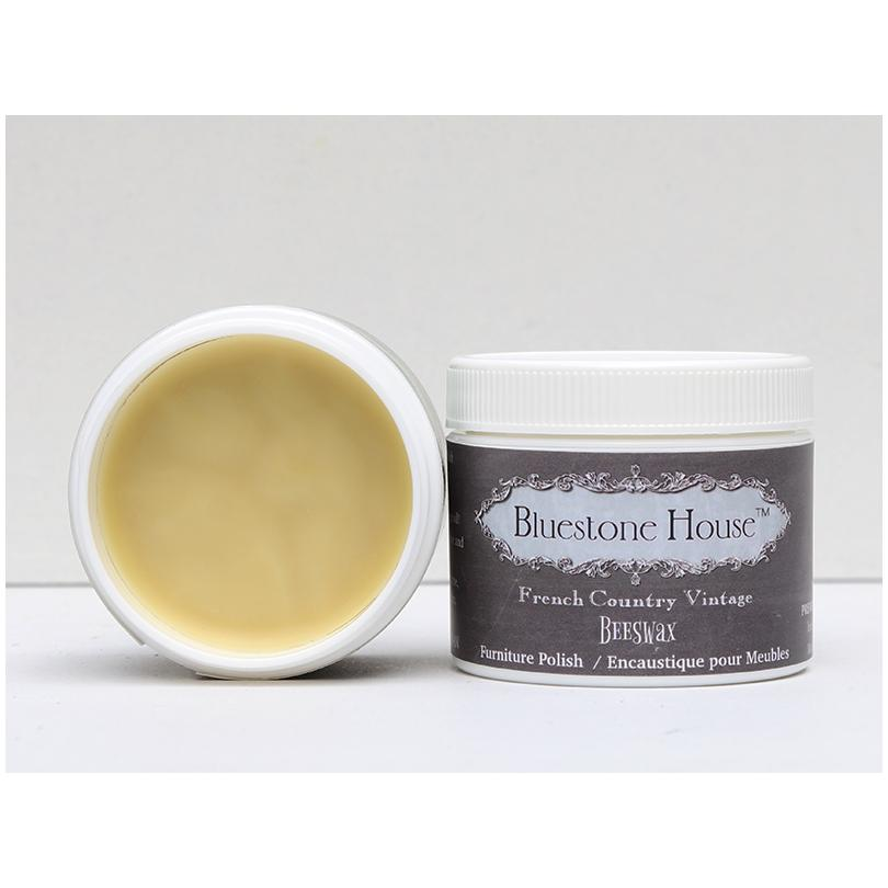 Bluestone House: Natural Beeswax Furniture Top Coat - for Chalk Paint