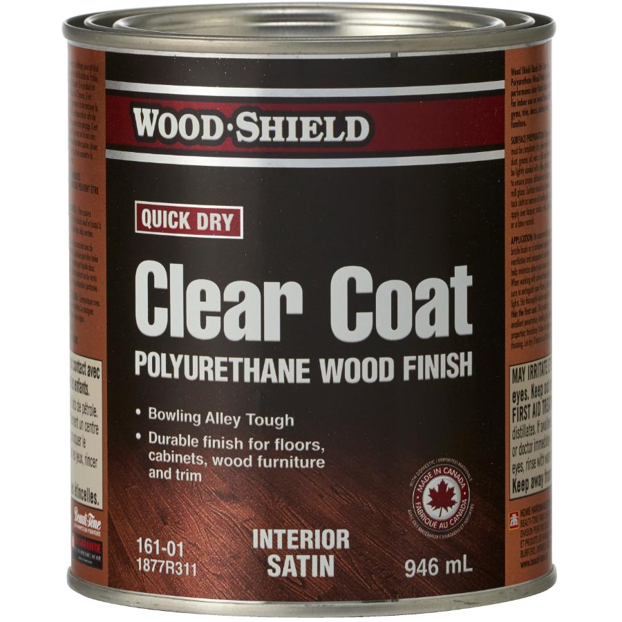 Beautitone Wood-shield 946mL Fast Drying Satin Alkyd Polyurethane Finish