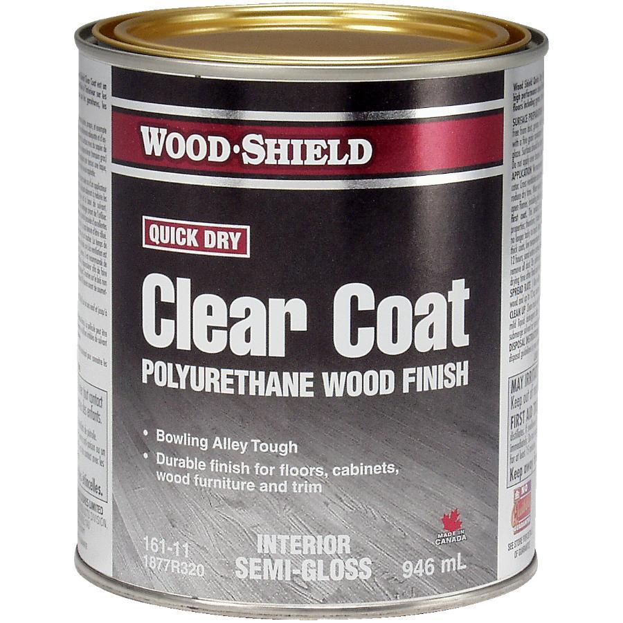 Beautitone Wood-shield 946mL Fast Dry Semi Gloss Alkyd Polyurethane Finish