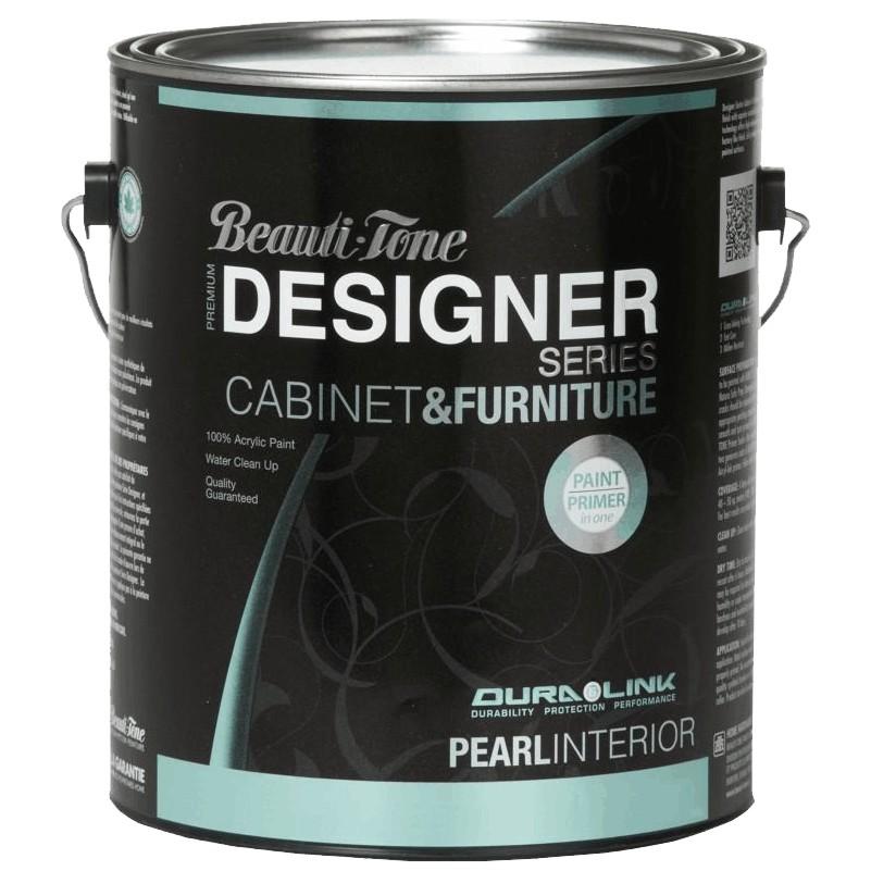 Beauti-tone Designer Series 3.48L Cabinet and Furniture Medium Base Interior Acrylic Paint