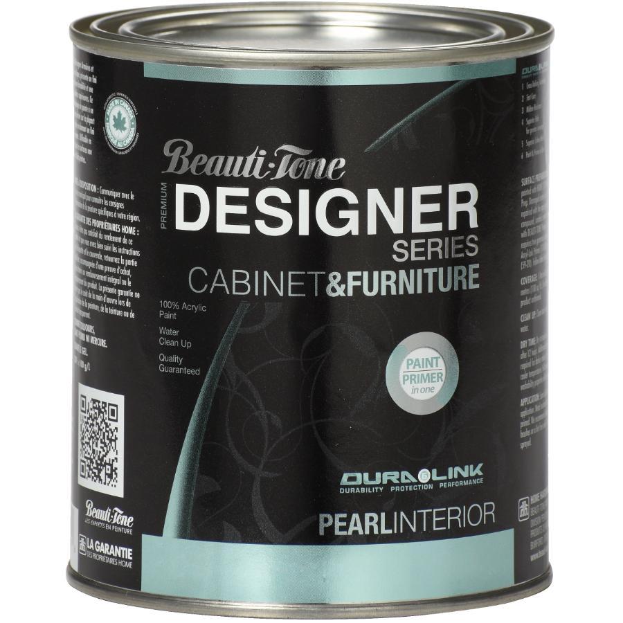 Beautitone Designer: 946mL Cabinet and Furniture Pearl Espresso Interior Acrylic Paint