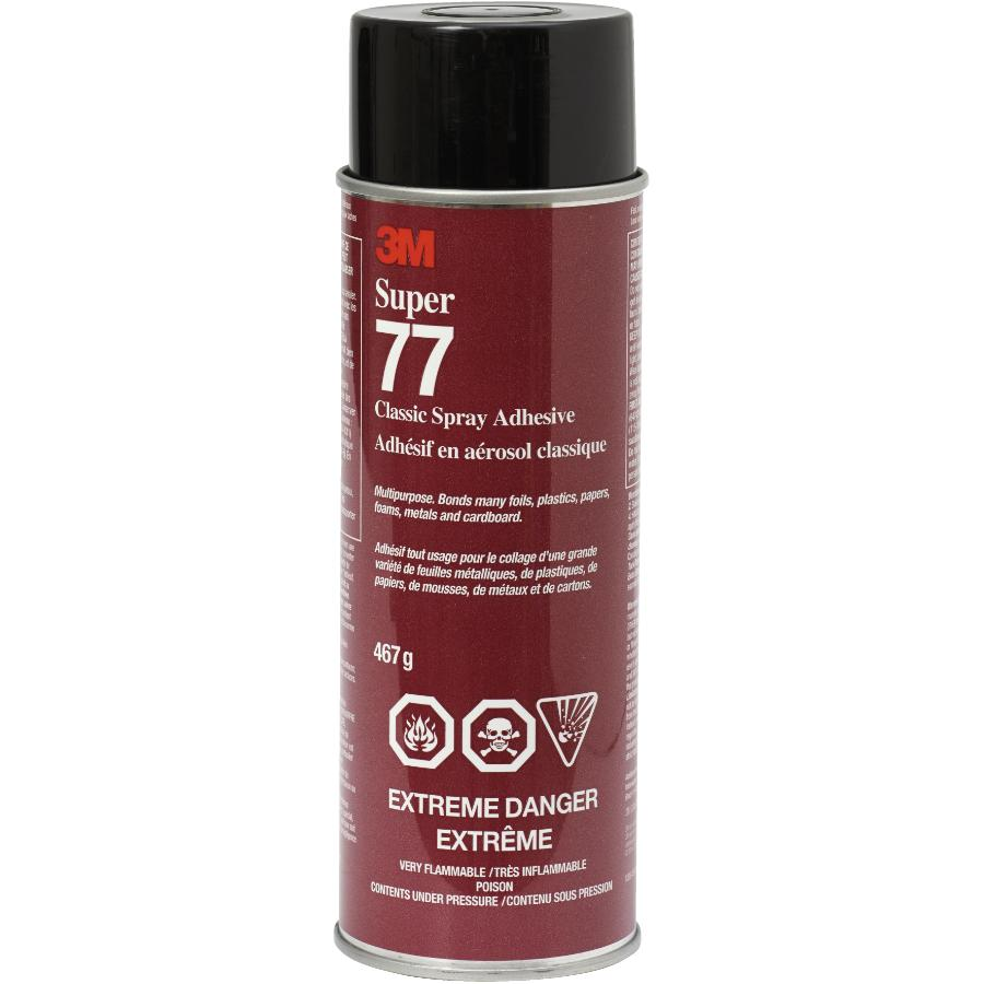 3m 467g Super 77 Spray Construction Adhesive
