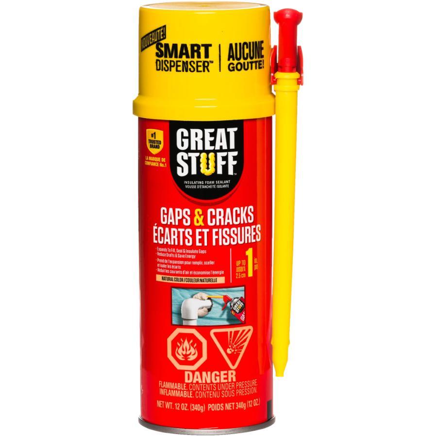 Great Stuff 340g Gap and Crack Foam Sealant
