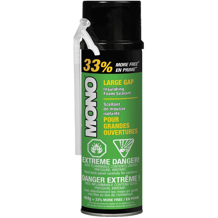 Mono 454g Bonus Mono Large Gap Insulating Foam Sealant
