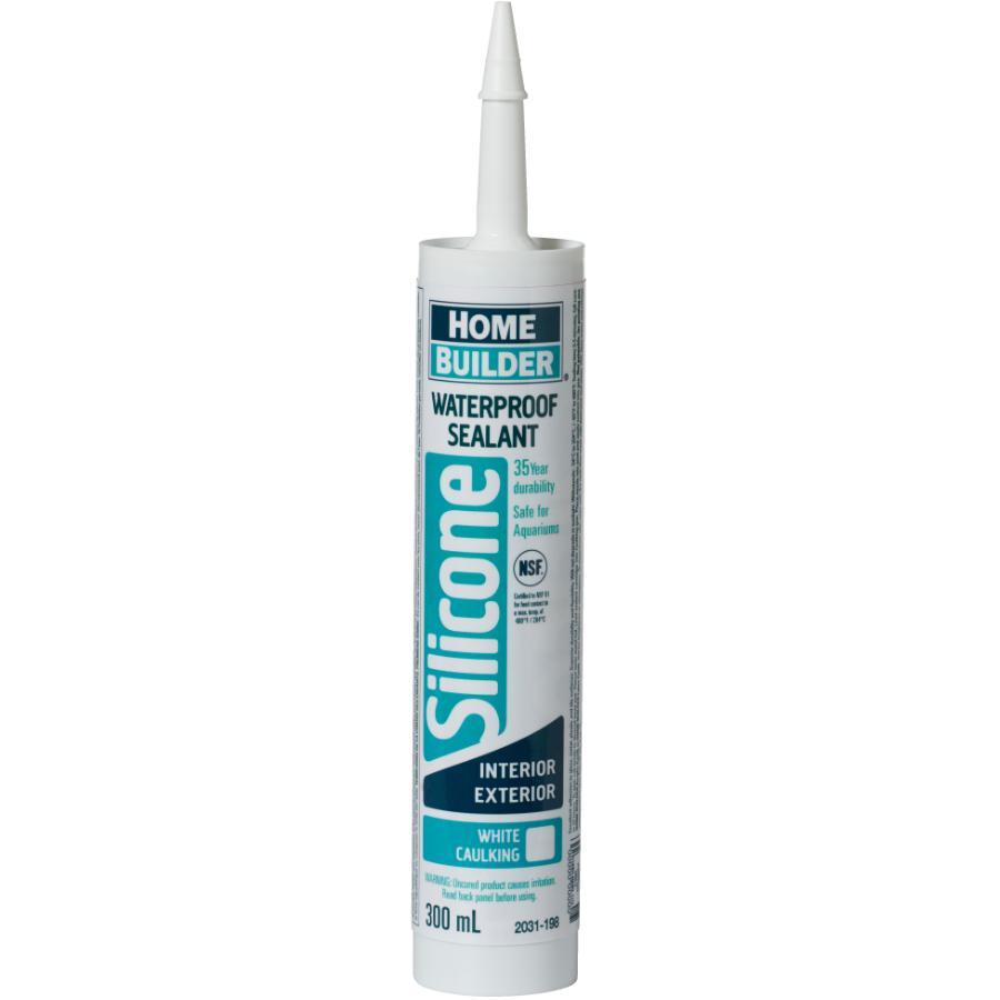 Home Builder 300ml White Multi Purpose Silicone Sealant