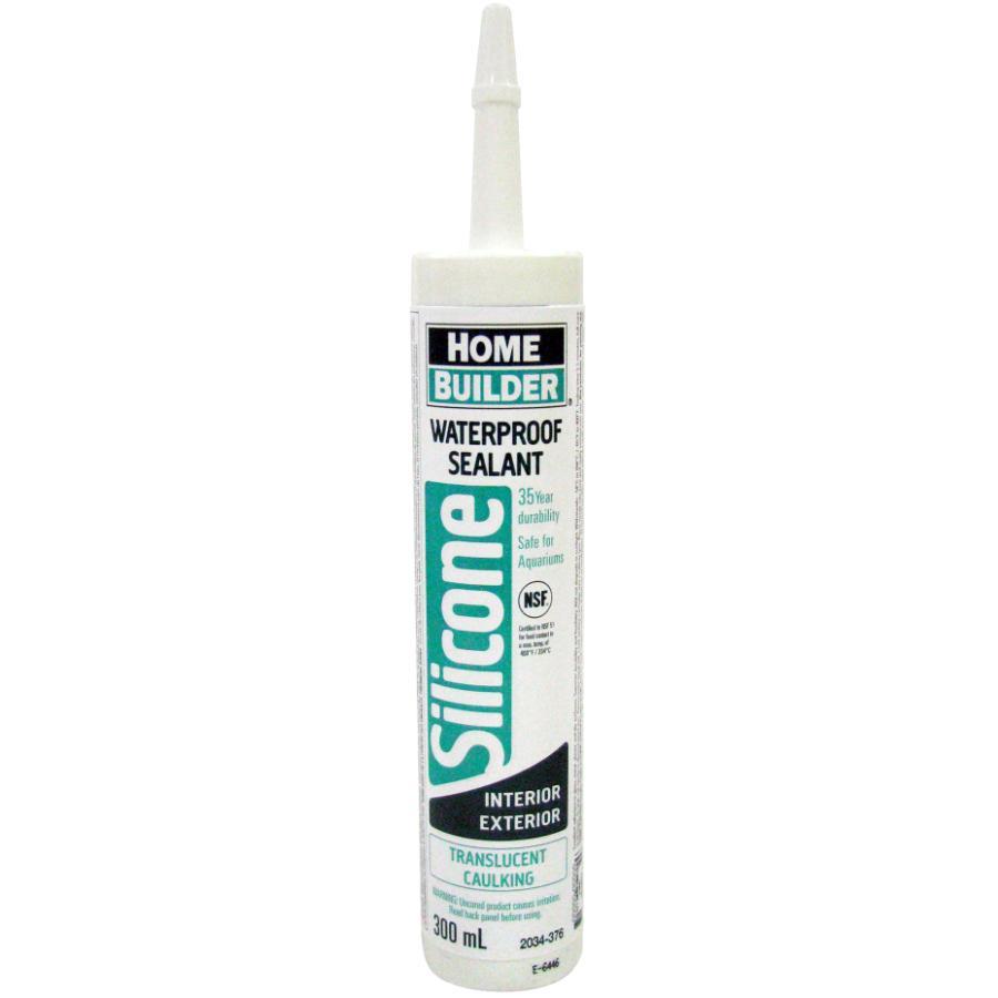 Home Builder 300ml Translucent Multi Purpose Silicone Sealant