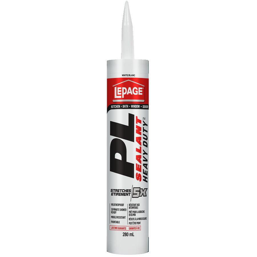 Lepage 280mL White PL Heavy Duty Sealant