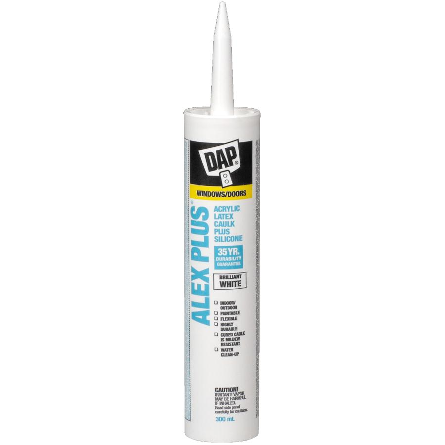 Dap 300mL Alex Plus White All Purpose Acrylic Caulking