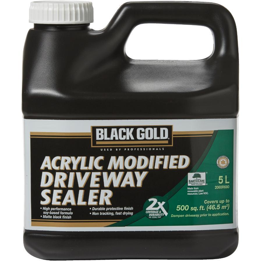Black Gold 5L Acrylic Driveway Sealer