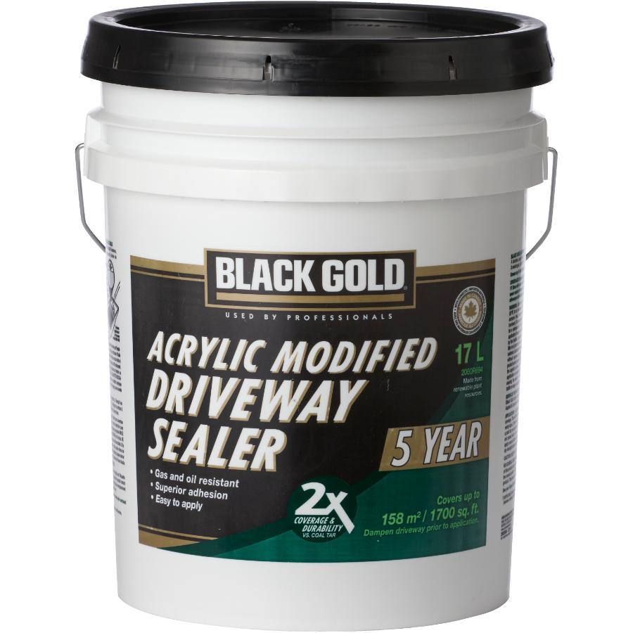 Black Gold 17L Acrylic Modified Driveway Sealer