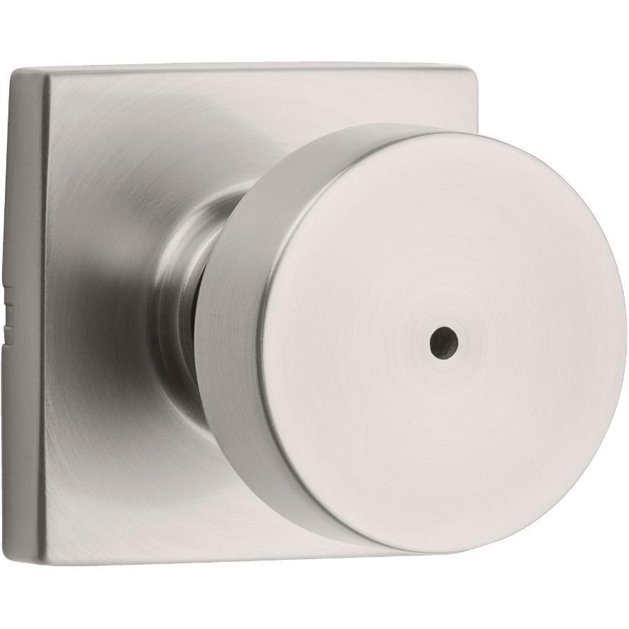 Weiser Lock Satin Nickel Cambie Privacy Door Knobset