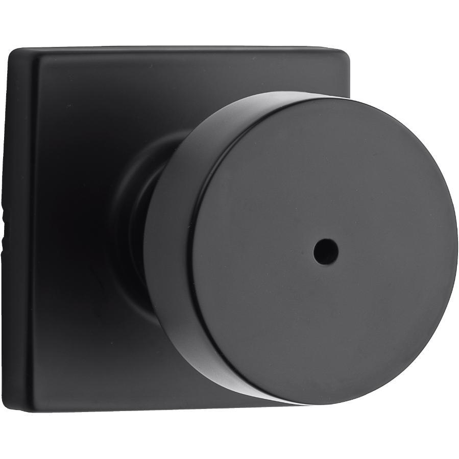 Weiser Lock Iron Black Cambie Privacy Door Knobset