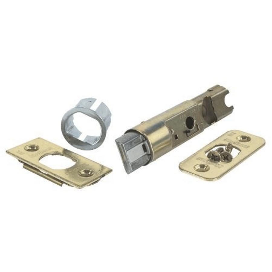 Weiser Lock Brass Spring Door Backset Latch