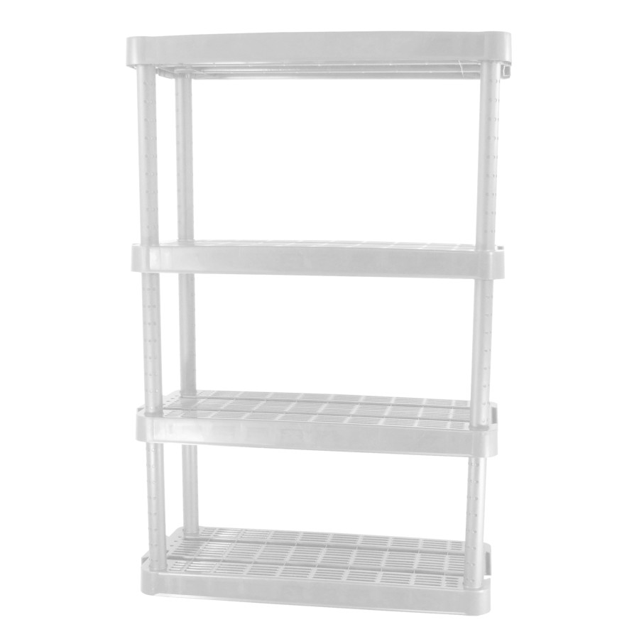 W x 14 in D Resin  Shelving Unit H x 32 in Maxit  54-1//2 in