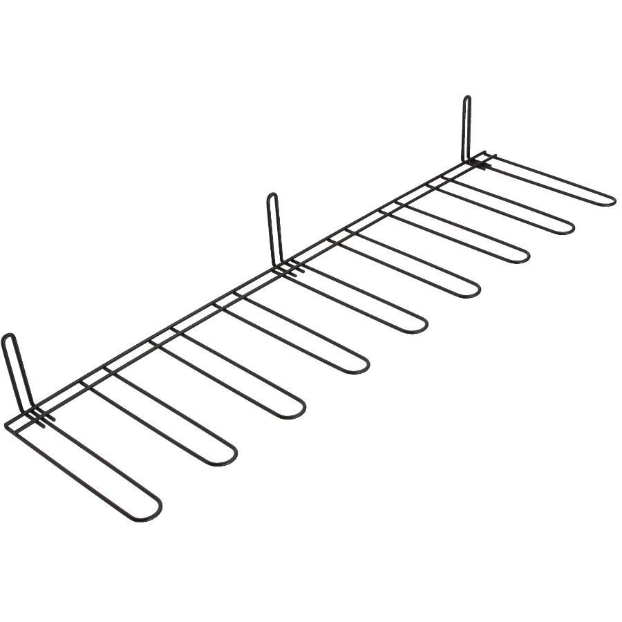 Homewares Black Wire Boot Hanging Wall Rack