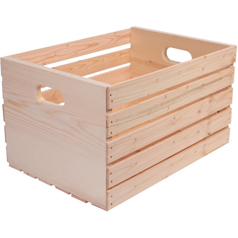 "Adwood Manufacturing 20"" x 14.5"" x 11.5"" Pine Crate"