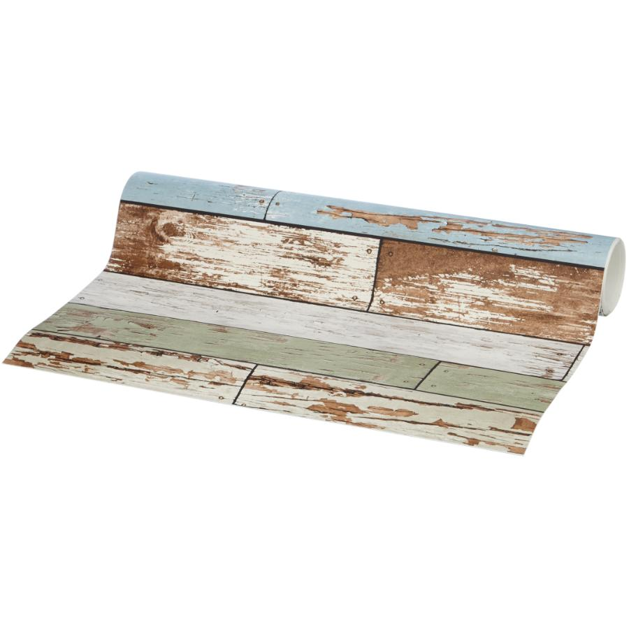 "Wallpops: 20.5"" x 18' Old Salem Vintage Wood Plank Peel and Stick Wallpaper"