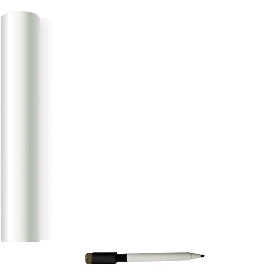 "Wallpops 20.5"" x 18' Dry Erase Peel and Stick Wallpaper"