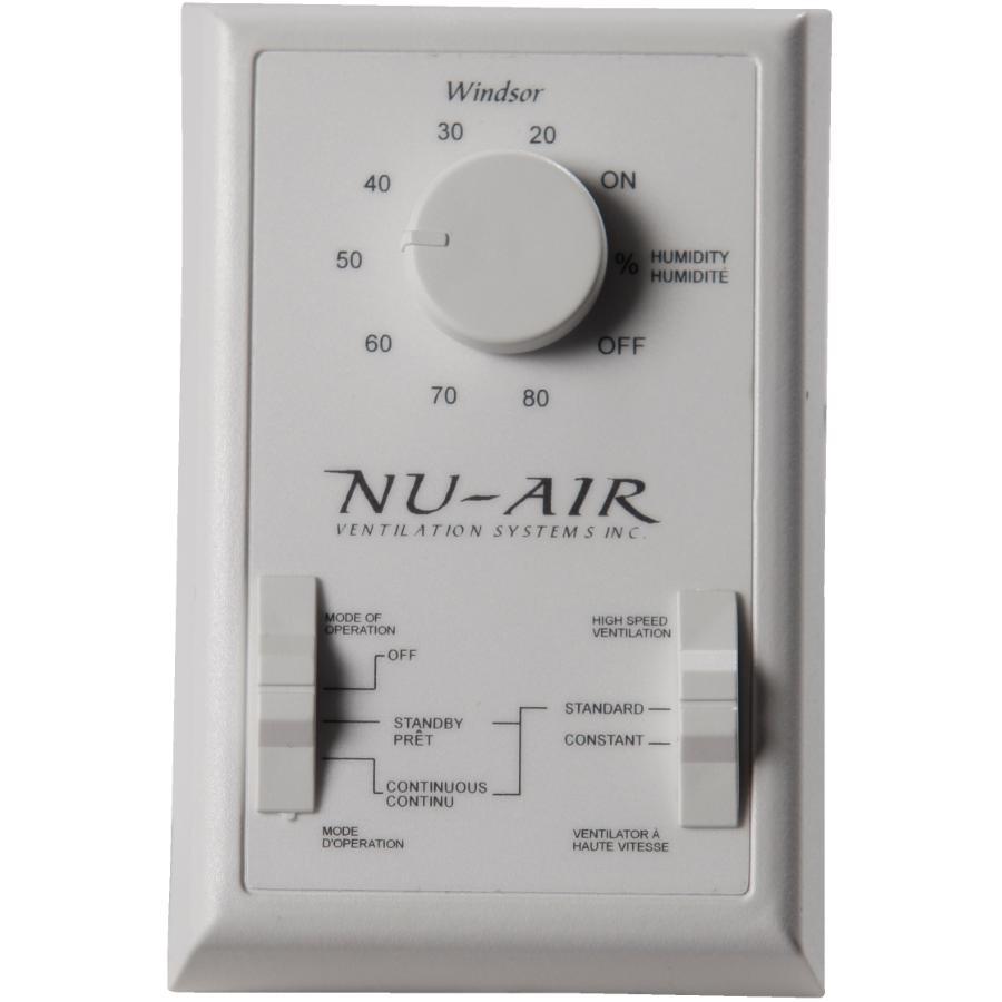 Nu-air 5 Position Dehumidistat Wall Control