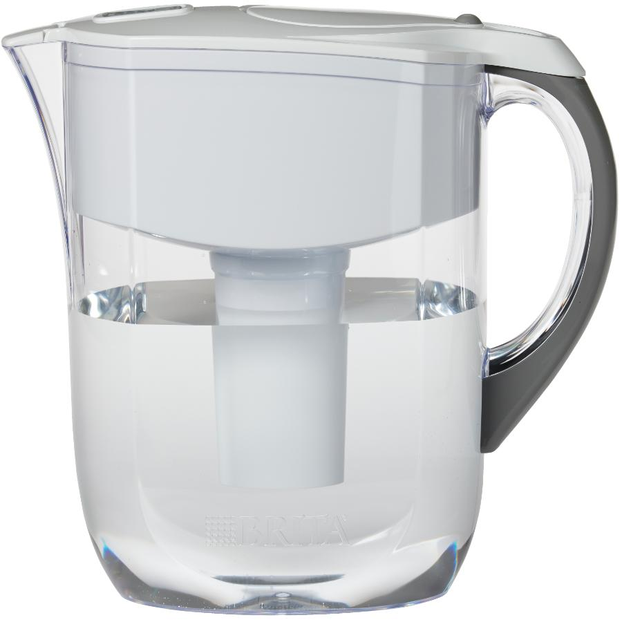 Brita 10 cup White Grand Water Pitcher with Filter