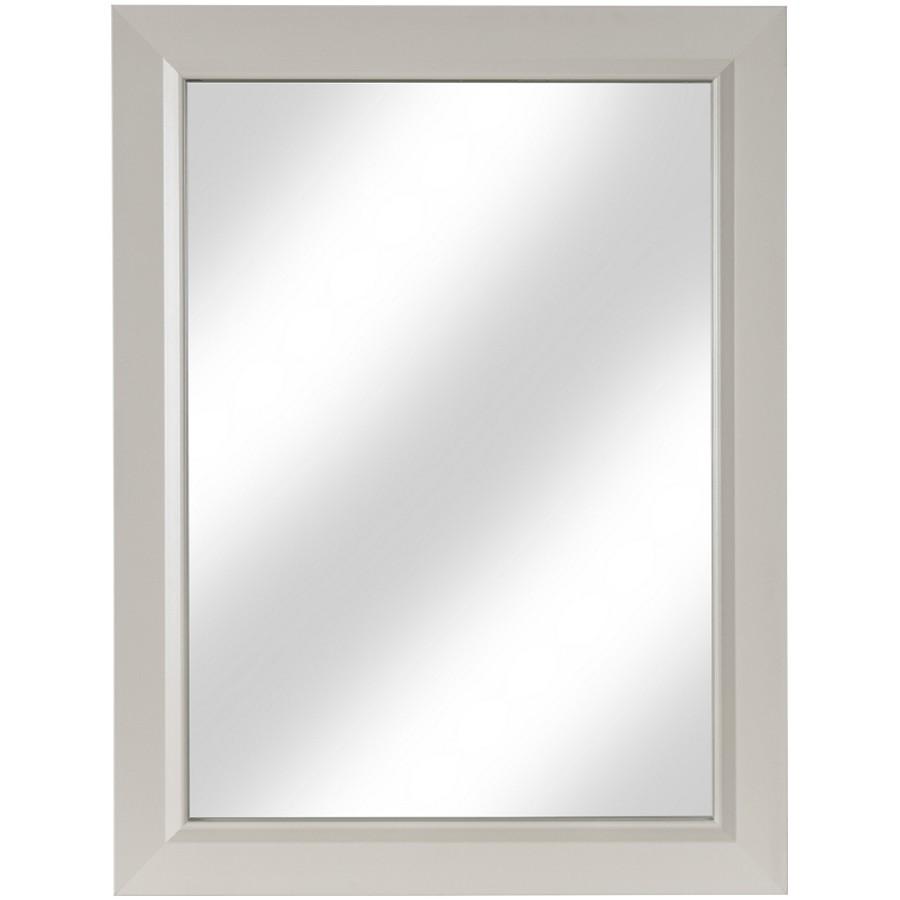"""CUTLER KITCHEN & BATH 23"""" x 30"""" Monroe Morning Dew Antique White Wall Mount Mirror"""