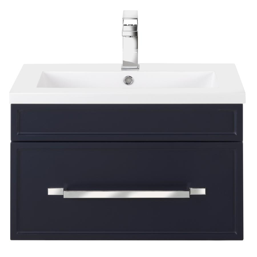"""Cutler Kitchen & Bath 24"""" Spencer Vanity - with Cultured Marble Top, Blue"""