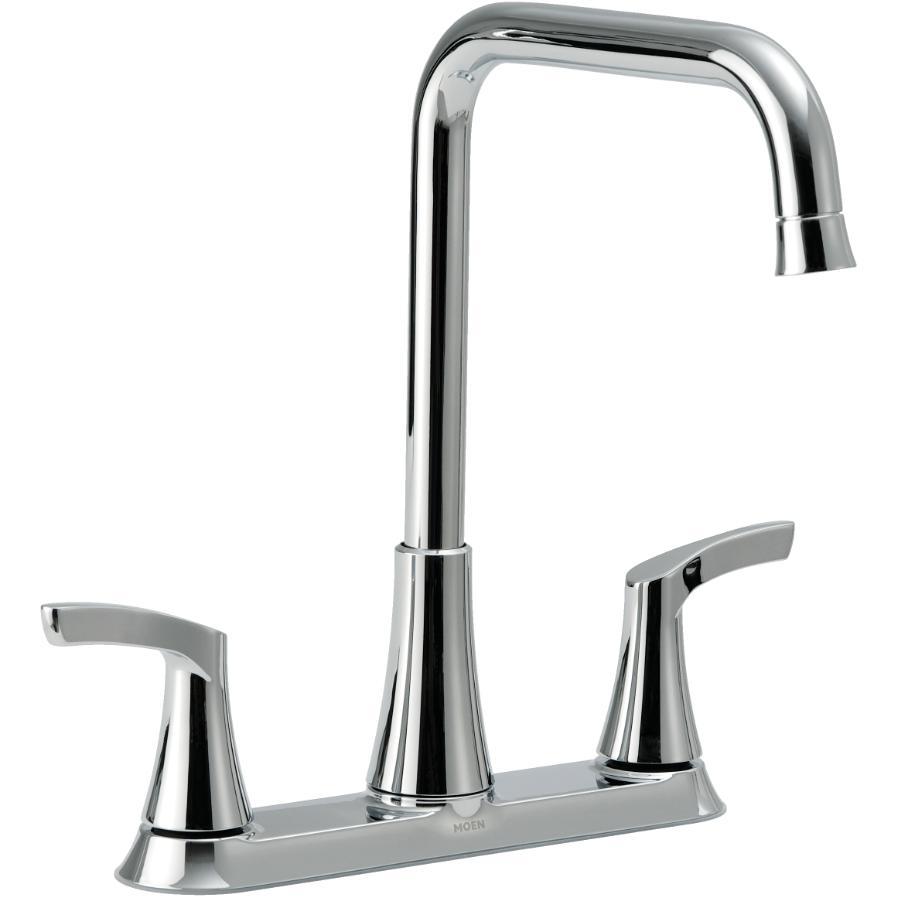 Moen Danika Chrome 2 Handle Faucet Deck