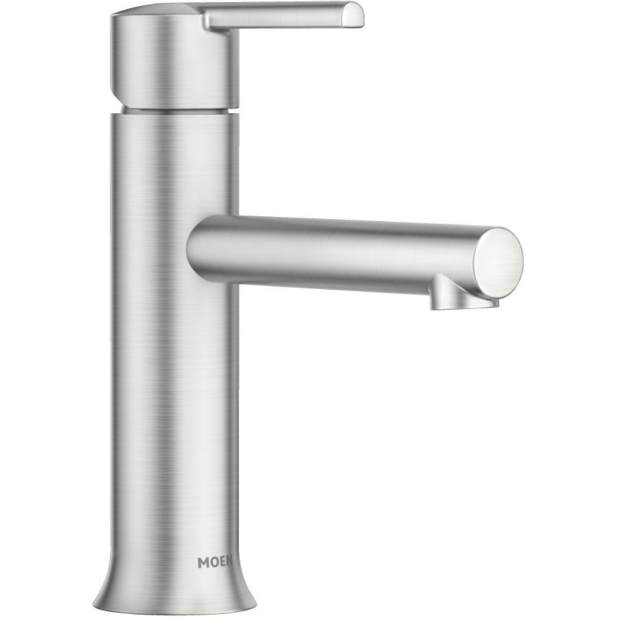 Moen Arlys Single Lever Bathroom Faucet - with Spot Resist, Brushed Nickel