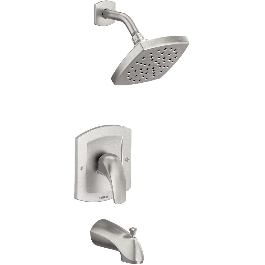 Moen Zarina Tub & Shower Faucet - with Pressure Balance, Brushed Nickel