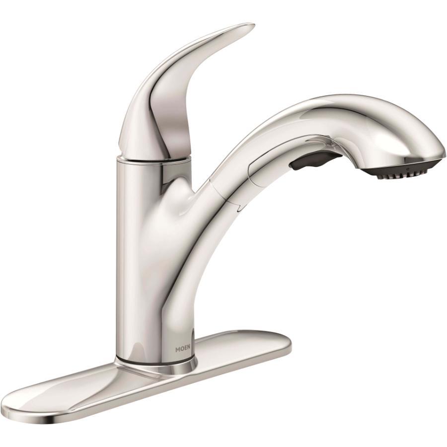 Moen Medina Chrome Pullout Kitchen Faucet