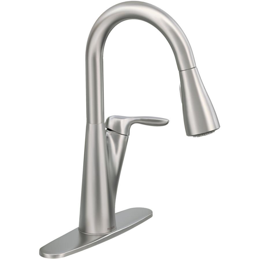 Moen Harlon Stainless Steel Pulldown Kitchen Faucet